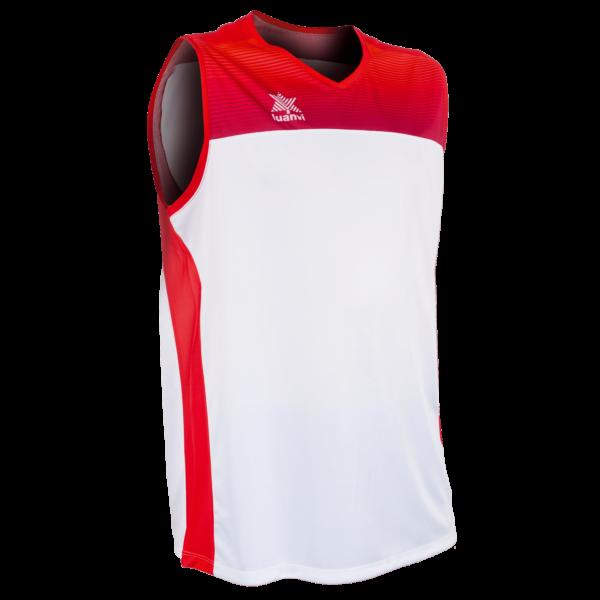 Basket shirt Portland White-Red