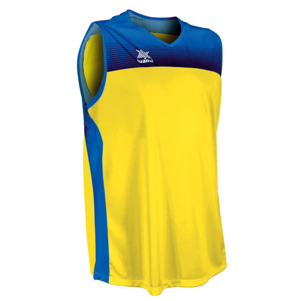 Basket shirt Portland Yellow-Royal
