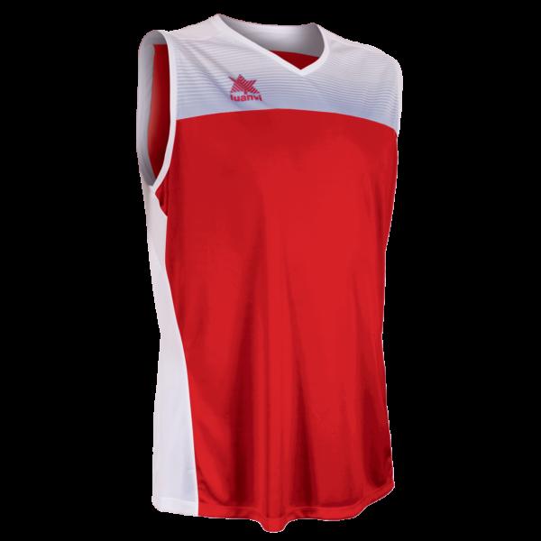 Basket shirt Portland Red-White
