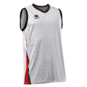 Basket Shirt Cardiff White-Red