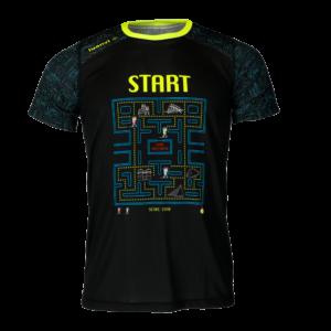 Technical running shirt PacMan
